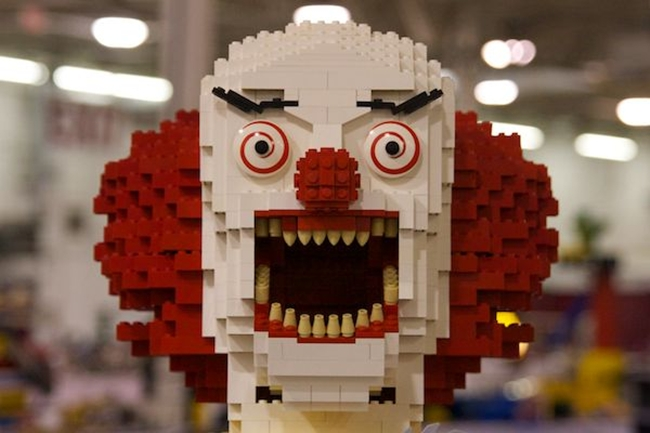 Scary Lego Clown
